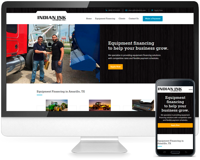 Business website design in Amarillo, TX