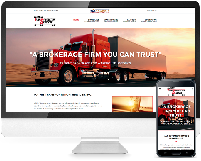 Amarillo website design in Amarillo, TX