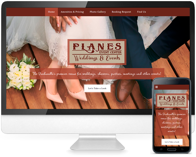 Event website design in Amarillo, TX