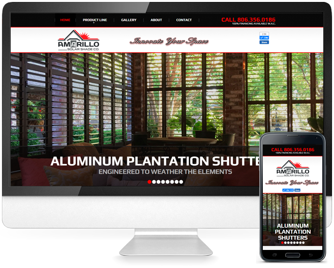 Website design in Amarillo, TX